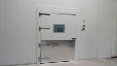 Walk-in Merchandising Cooler 15w X 20d X 10h With 6 Glass Doors Bar Bakery