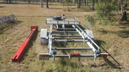 Boat Trailer with 6ft by 6ft Checkerplate storage at front Lockyer Waters Lockyer Valley Preview