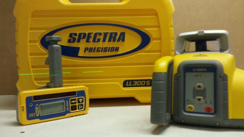 SPECTRA PRECISION LL300S SLOPE LASER W HL450 RECEIVER