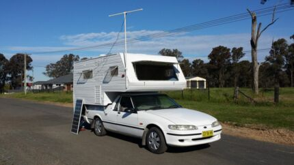1998 ford falcon motorhome campervan camper Austral Liverpool Area Preview
