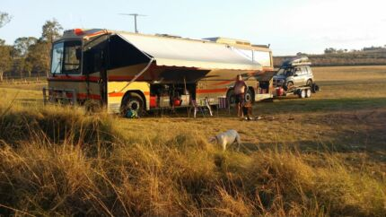88 MAN coach motor home + suzuki 4wd + car trailer Biggenden North Burnett Area Preview
