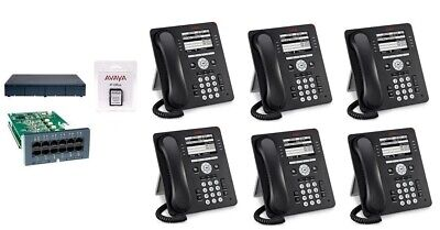 Avaya Ip Office 500 V2 Ipo500 9.1 4 Lines 6 9508 Phone System Essential Package