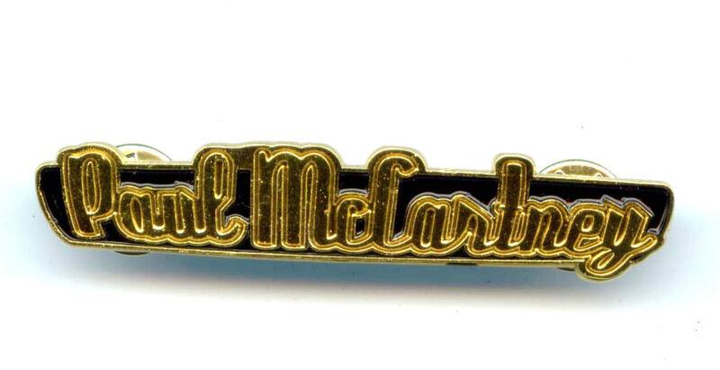Beatles Paul McCartney Concert Pin
