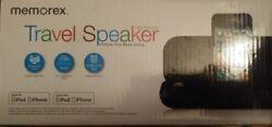 Memorex MA3122BK Ultra Portable Travel St ereo Speaker BRAND NEW iPhone iPod