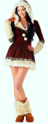Eskimo Outfit (California Costume Collections 01017 Eskimo Kisses Holiday Party Outfit S M L)