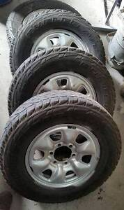 Toyota Hilux Prado steel Rims and Tyres SUIT 03/2005 TO 08/2015 St Albans Brimbank Area Preview