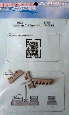 Aires 1/48 German 7.92mm MG15 Guns 4024
