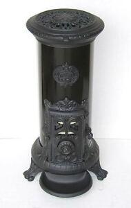 NEW-5-kw-Godin-3720-Antique-Style-Cast-Iron-Wood-Coal-multifuel-Stove-Black