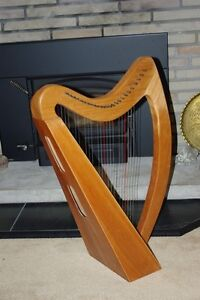 Therapy Harp For Sale, 25 strings fully levered