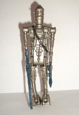 Vintage Star Wars Complete Silver IG-88 Action Figure - 1980 - C9+ - HONG KONG