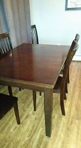 Solid Wood Dining Table Set NEW PRICE