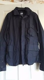 cp company short light weight goggle jacket