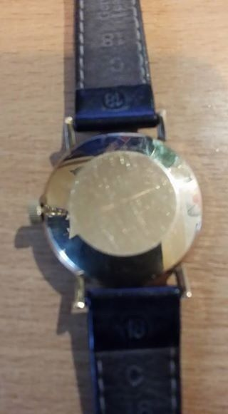 tissot gents seastar seven 9ct gold manual winder REDUCED TOO £300