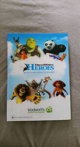 Dreamworks Heroes Activity and Collectors Album Panania Bankstown Area Preview