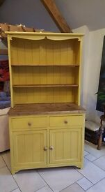 pine / reclaimed dresser with sparkle...delivery available