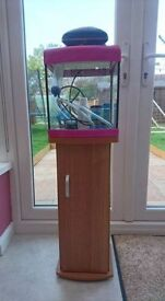 Small Fish Tank with Stand