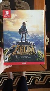 New Special Edition Legend of Zelda Breath of the Wild - $175OBO