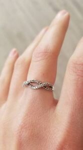 Infinity Promise Ring - Size 7