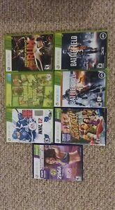 XBox 360  Kinect + 7 games
