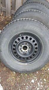 pneu hiver avec rim pour jeep wrangler