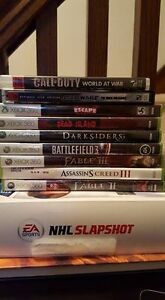 7 Xbox 360 titles - Assassin's Creed 3, Fable 2, Fable 3 etc.