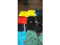 12 pairs of shorts age between 8/ 12