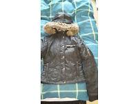 size 6-8 (s) adult goldigga jacket