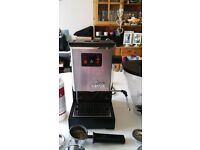 Gaggia Classic coffee machine with Rancilio steam wand and LOTS of accessories