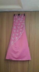 Pink Halterneck prom dress