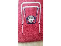 Dolls high chair, swing and Walker