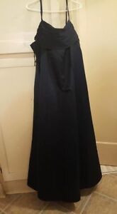 Formal floor length gown-plus size