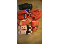 A selection of Junior Sparring Gear (Tae Kwondo - Martial Arts)