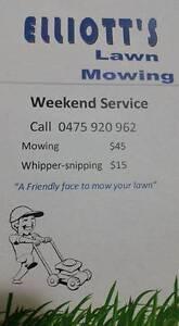 Elliott's Weekend Lawn Mowing Service Nakara Darwin City Preview