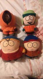 South Park original plush toy set