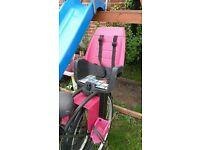 baby/kids rear bike safety seat