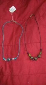 Pretty things handmade beaded necklaces £5 each