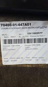 Lorian stationary sofa moonlight stone Kingston Kingston Area image 2