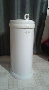 Ubbi diaper pail, change pad and covers, Carters dress