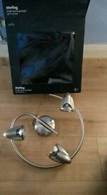 3 light spiral Ceiling spotlight - Brand New and Boxed