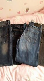 Boys jeans bundle Next and 1 Brand new Rocha RJR pair Age 11-12 years