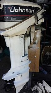 Wanted - 6-15hp johnson and evinrude outboards
