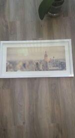 Panoramic photo frames 3x
