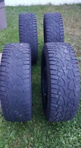 195 65 R15 - Set of Four Winter Tires on Rims