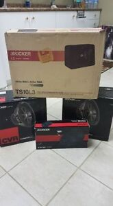 tons of brand new car audio