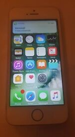 IPHONE 5S VGC ON EE NETWORK IPHONE VERY SMALL DENT ON BACKBUT HARDLY NOTICEABLE.