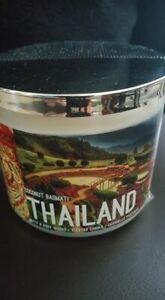 Bath & Body Works -- Memories of Thailand Coconut Basmati Candle