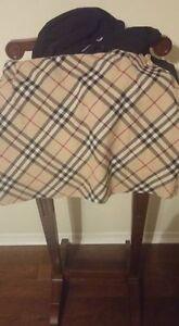 Burberry top and skirt