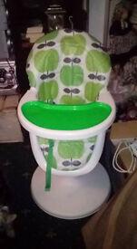 hydraulic high chair