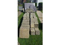 Yorkstone style paving slabs