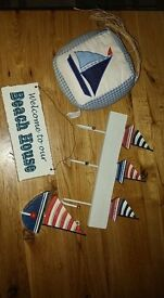 Boat themed bedroom accessories